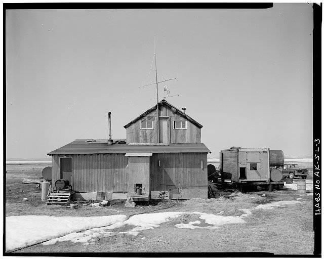 3.  REAR - Iditarod Trail Shelter Cabins, Safety Roadhouse, Port Safety, Nome Census Area, AK