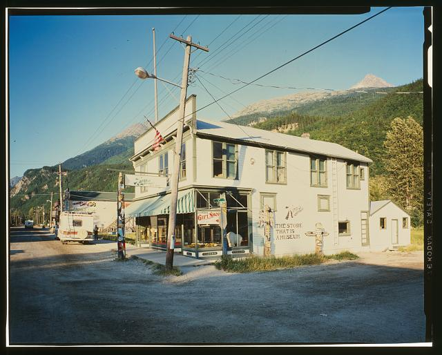 KIRMSE CURIOS, NORTHEAST CORNER, BROADWAY AND FIFTH AVENUES - City of Skagway, Skagway, Skagway, AK