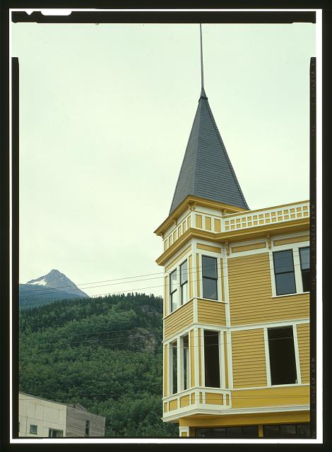 PACK TRAIN SALOON/TRAIL INN, DETAIL - City of Skagway, Skagway, Skagway, AK