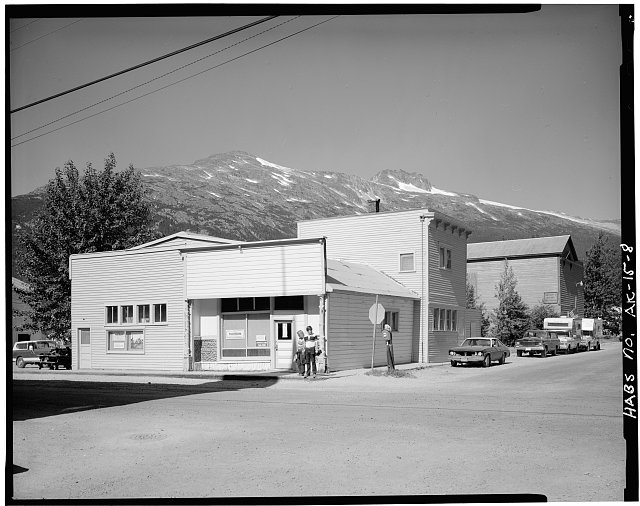 8.  PANTHEON SALOON (1897/1903), SOUTHWEST CORNER, BROADWAY AND FOURTH AVENUES - City of Skagway, Skagway, Skagway, AK