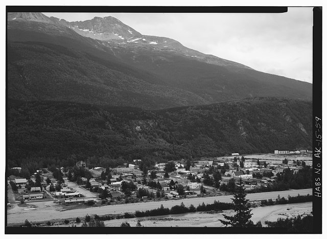59.  PANORAMA, LOOKING EAST - City of Skagway, Skagway, Skagway, AK