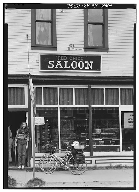 66.  RED ONION SALOON, CORNER OF SECOND AND BROADWAY - City of Skagway, Skagway, Skagway, AK
