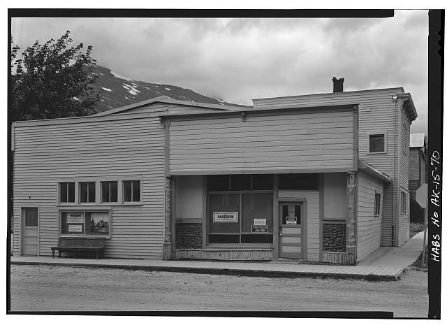 70.  PANTHEON SALOON, BROADWAY AND FOURTH AVENUE - City of Skagway, Skagway, Skagway, AK