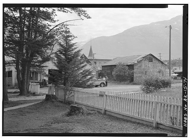 74.  FIFTH AVENUE FROM MOORE LOT - City of Skagway, Skagway, Skagway-Hoonah-Angoon Census Area, AK