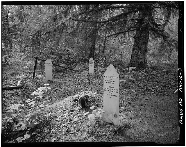 7.  SLIDE CEMETERY, LOOKING WEST - Town of Dyea, Skagway, Skagway-Hoonah-Angoon Census Area, AK