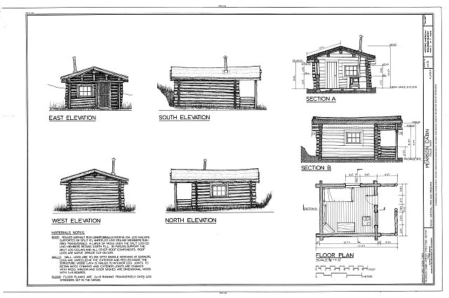HABS AK,23-MCKIN,3- (sheet 2 of 3) - Pearson Cabin, near Toklat River, Cantwell, Denali Borough, AK