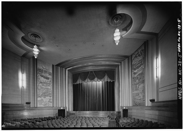 5.  INTERIOR, LOOKING SOUTH TOWARD THE STAGE - Fourth Avenue Theatre, 630 West Fourth Avenue, Anchorage, Anchorage, AK