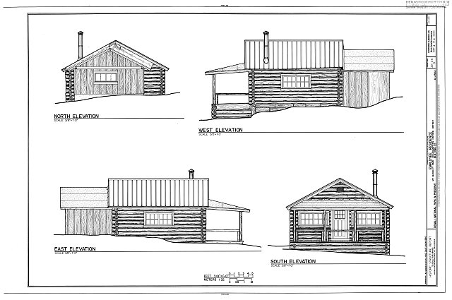 HABS AK,23-MCKIN,1-D- (sheet 2 of 2) - Mount McKinley Headquarters, Employee Residence, Cantwell, Denali Borough, AK