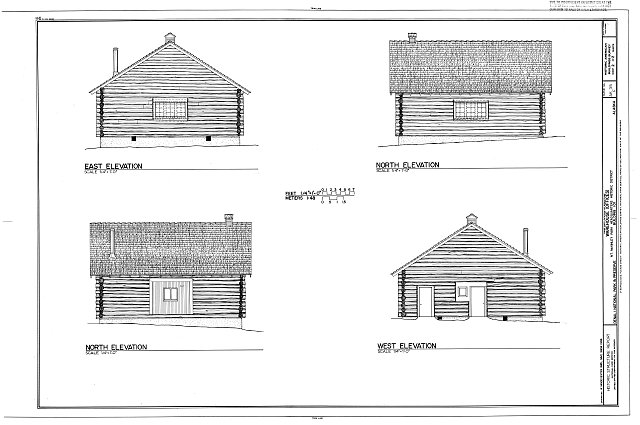 HABS AK,23-MCKIN,1-F- (sheet 2 of 2) - Mount McKinley Headquarters, Warehouse, Cantwell, Denali Borough, AK