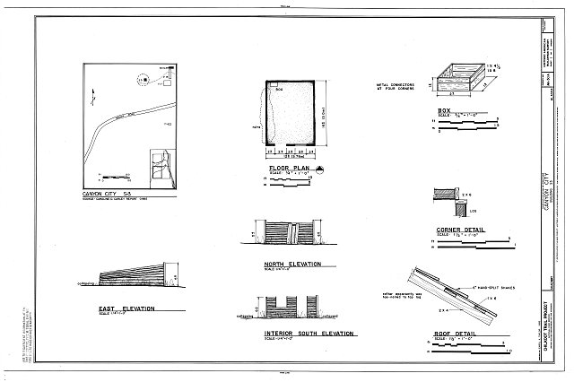 HABS AK,18-SKAG,2-A- (sheet 1 of 1) - Canyon City, Building S3, Skagway, Skagway, AK