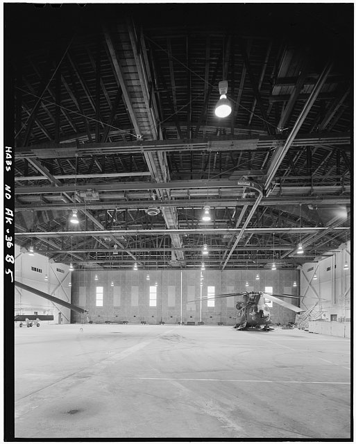 5.  INTERIOR - Ladd Field, Birchwood Hangar, Fort Wainwright, Fairbanks, Fairbanks North Star Borough, AK