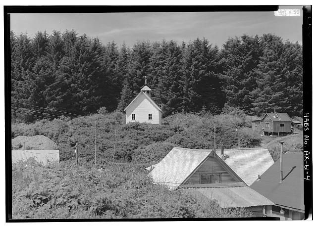 4.  EAST SIDE - St. John the Baptist Russian Orthodox Church, Angoon, Skagway-Hoonah-Angoon Census Area, AK