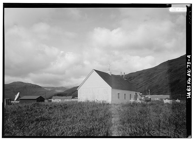 4.  EAST AND NORTH SIDES - St. Alexander of Nevsky Russian Orthodox Church, Akutan, Aleutians East Borough, AK