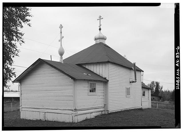 6.  EAST AND NORTH SIDES - Presentation of Our Lord Russian Orthodox Church, Nikolai, Yukon-Koyukuk Census Area, AK