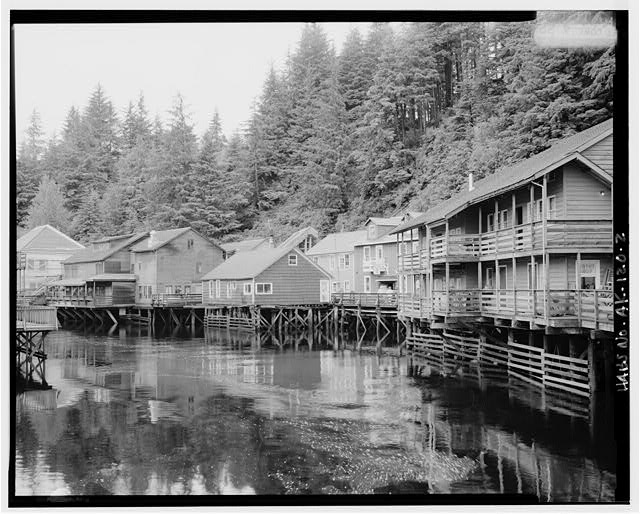 2.  CREEK STREET, LOOKING NORTHWEST - City of Ketchikan, Ketchikan, Ketchikan Gateway Borough, AK