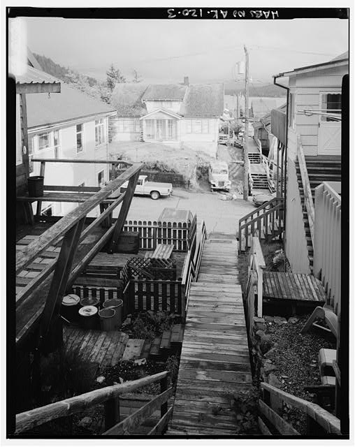 3.  STAIRWAY DOWN FROM EDMOND STREET - City of Ketchikan, Ketchikan, Ketchikan Gateway Borough, AK