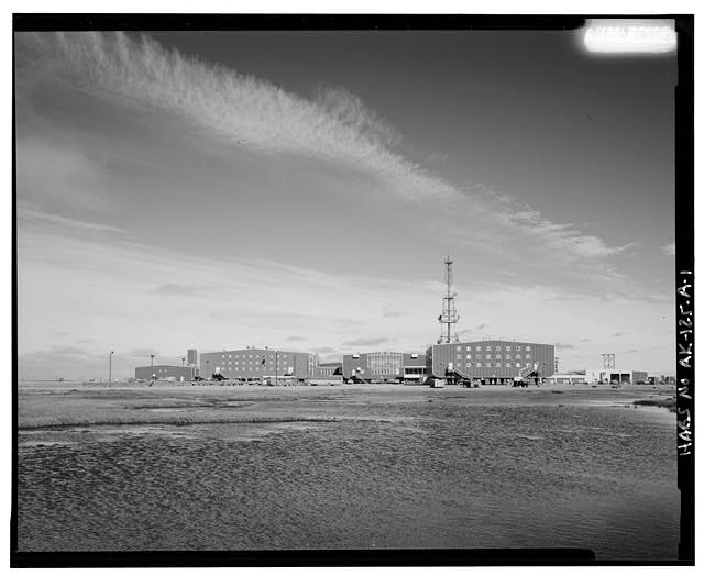 1.  SOUTH FRONT - BP Facilities, Base Operations Center, Prudhoe Bay, North Slope Borough, AK