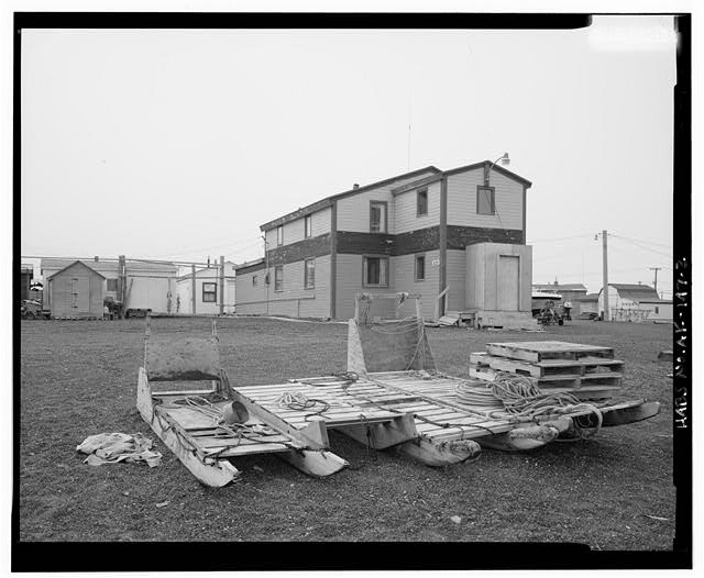 2.  EAST AND NORTH SIDES - Brower House, Building 3129, Browerville, Barrow, North Slope Borough, AK