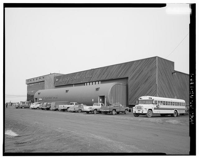 1.  SOUTHWEST FRONT, IN PERSPECTIVE - Stuaqpak, Agvik Street, Barrow, North Slope Borough, AK