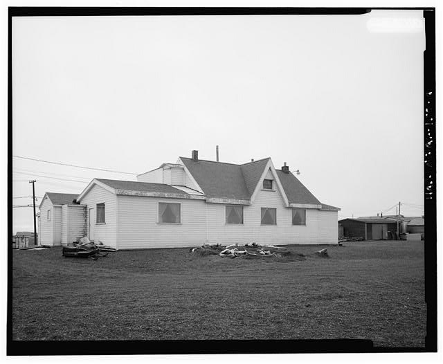 4.  NORTH SIDE - Point Barrow Refuge Station, Building 3220, Browerville, Barrow, North Slope Borough, AK