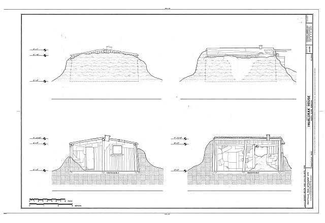 HABS AK-195 (sheet 2 of 2) - Inualurak House, 325 Mekiana Road, Anaktuvuk Pass, North Slope Borough, AK