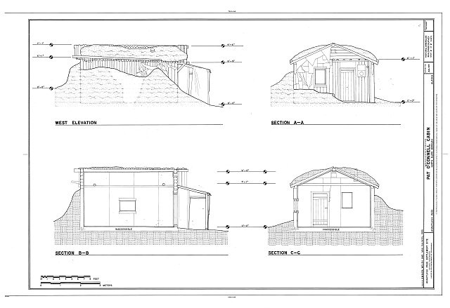 HABS AK-197 (sheet 2 of 2) - Pat O'Connell Cabin, 330 Mekiana Road, Anaktuvuk Pass, North Slope Borough, AK