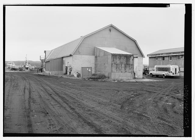 View looking northeast - Storage Building, Haul Road, Saint Paul, Aleutians West Census Area, AK