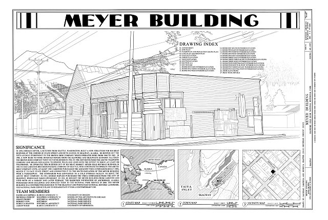 Cover Sheet - Meyer Meat Market Building, 495 State Street, Skagway, Skagway-Hoonah-Angoon Census Area, AK