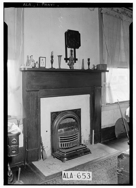 4.  Historic American Buildings Survey W. N. Manning, Photographer, March 26, 1935 MANTEL IN N.E. ROOM - Thomas Avery Fay House, 203 Washington Street, Prattville, Autauga County, AL