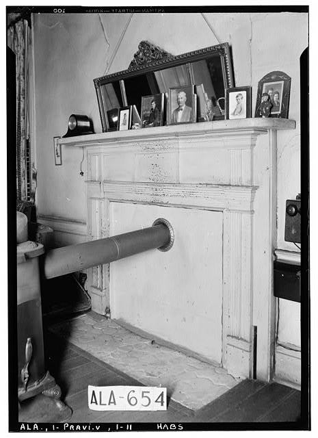 11.  Historic American Buildings Survey W. N. Manning, Photographer, March 26, 1935 MANTEL IN LIVING ROOM, UPSTAIRS - Pope-Golson House, 815 Shadow Lane (moved from original location), Prattville, Autauga County, AL
