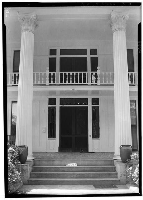 4.  Historic American Buildings Survey W. N. Manning, Photographer, June 13, 1935. FRONT ENTRANCE - Beeland-Stanley House, 218 East Commerce Street, Greenville, Butler County, AL