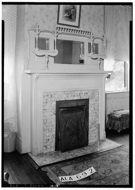 7.  Historic American Buildings Survey W. N. Manning, Photographer, June 13, 1935. MANTEL IN N.W. BED ROOM UPSTAIRS - Beeland-Stanley House, 218 East Commerce Street, Greenville, Butler County, AL