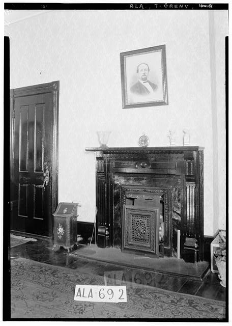 8.  Historic American Buildings Survey W. N. Manning, Photographer, June 13, 1935. MANTEL AND DOOR IN N.E. BED ROOM, UPSTAIRS - Beeland-Stanley House, 218 East Commerce Street, Greenville, Butler County, AL