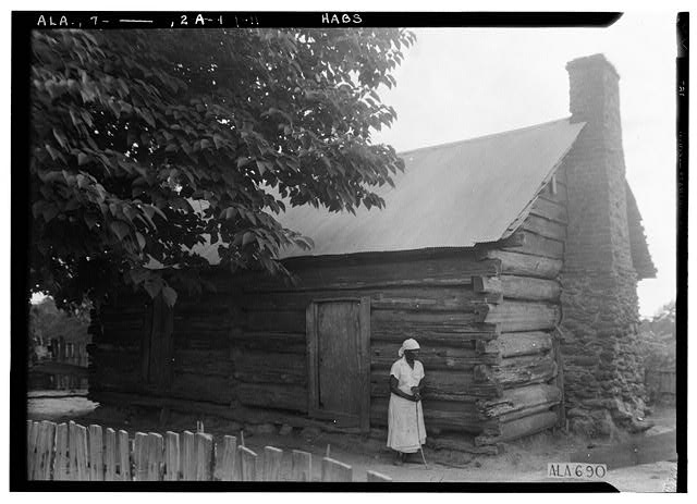 11.  Historic American Buildings Survey W. N. Manning, Photographer, June 12, 1935. SLAVE QUARTERS - Will Crenshaw Plantation (House), County Road 54, Greenville, Butler County, AL