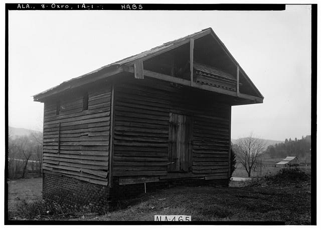 9.  Historic American Buildings Survey W. N. Manning, Photographer, January 24, 1935 S.E. CORNER OF WHEAT HOUSE - Dudley Snow House, 704 Snow Street, Oxford, Calhoun County, AL