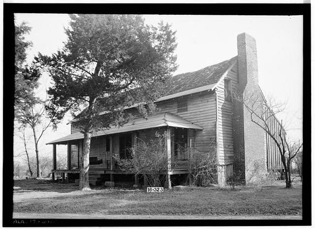 1.  Historic American Buildings Survey W. N. Manning, Photographer, March 8, 1934. GENERAL FRONT VIEW. - Bonner House, 2708 Tenth Avenue, Sheffield, Colbert County, AL