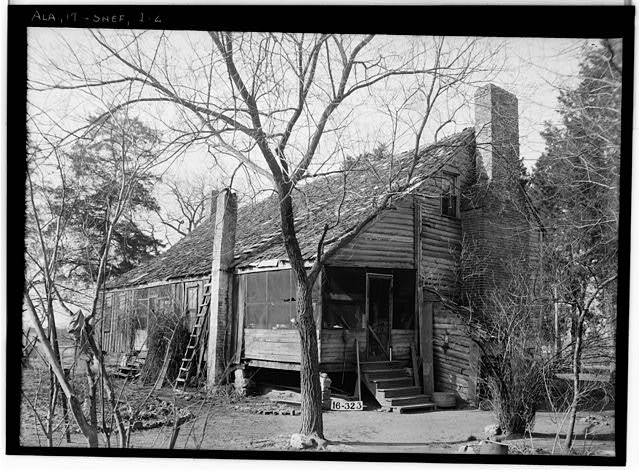 2.  Historic American Buildings Survey W. N. Manning, Photographer, March 8, 1934. REAR VIEW - Bonner House, 2708 Tenth Avenue, Sheffield, Colbert County, AL