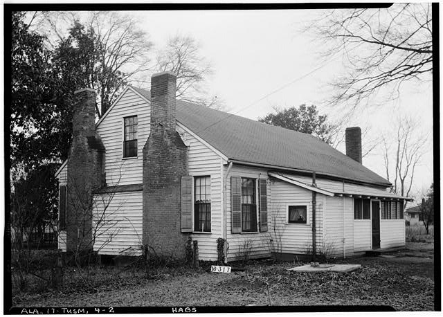 2.  Historic American Buildings Survey W. N. Manning, Photographer, Feb. 2, 1934. REAR VIEW. - Helen Keller House, 300 West North Commons, Tuscumbia, Colbert County, AL