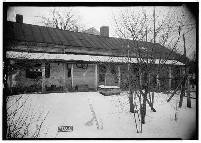6.  Historic American Buildings Survey Alex Bush, Photographer, January 26, 1935 OLD SLAVE HOUSE - Newsome-Minor House, 204 North Main Street, Tuscumbia, Colbert County, AL