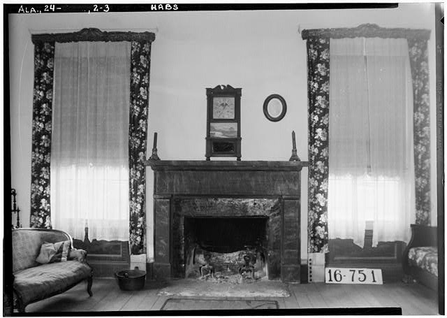 3.  Historic American Buildings Survey W. N. Manning, Photographer, March 17, 1934. FIREPLACE AND MANTEL (LIVING ROOM) - Seal House, County Road 33 vicinity, Orrville, Dallas County, AL