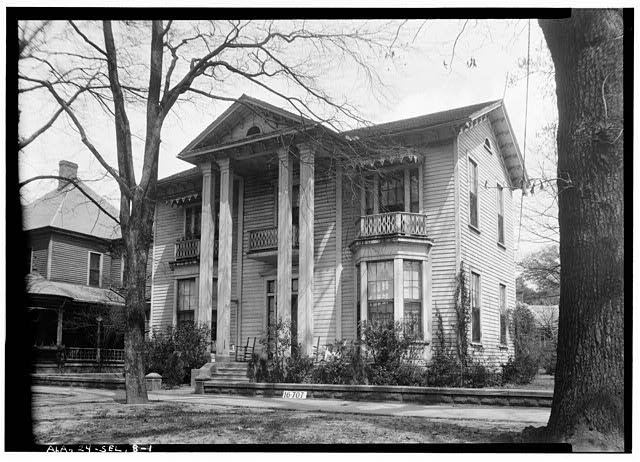 1.  Historic American Buildings Survey W. N. Manning, Photographer, March 18, 1934. FRONT VIEW. - Bell-Bennett House, 412 Lauderdale Avenue, Selma, Dallas County, AL