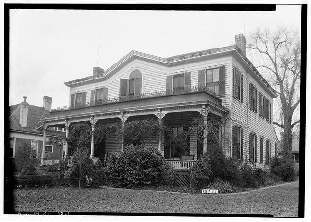 1.  Historic American Buildings Survey W. N. Manning, Photographer, March 23, 1934. FRONT VIEW. - Dawson-Vaughan House, 704 Tremont Street, Selma, Dallas County, AL