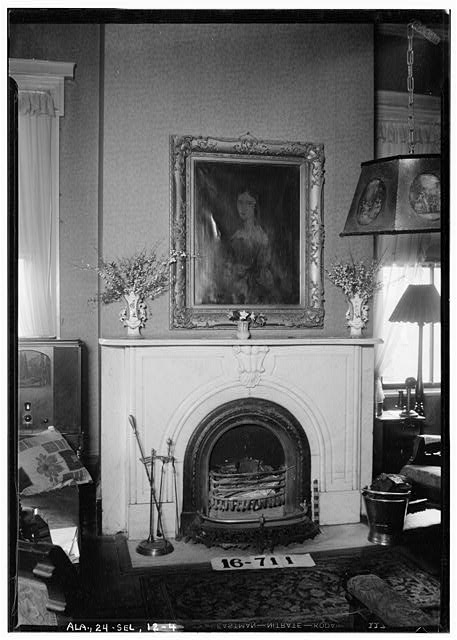 9.  Historic American Buildings Survey W. N. Manning, Photographer, March 23, 1934. FIREPLACE AND MANTEL (LIVING ROOM) - Dawson-Vaughan House, 704 Tremont Street, Selma, Dallas County, AL