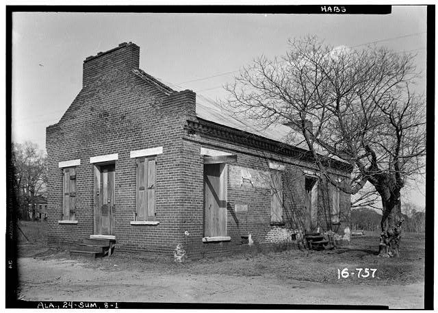 1.  Historic American Buildings Survey W. N. Manning, Photographer, March 23, 1934. FRONT VIEW. - King House, Centenary Street, Summerfield, Dallas County, AL