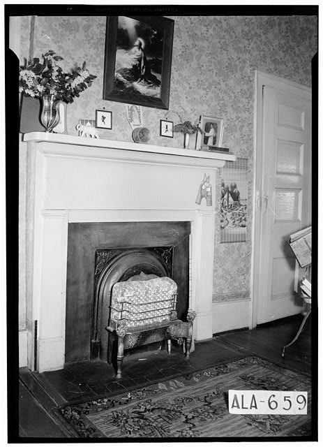 8.  Historic American Buildings Survey W. N. Manning, Photographer, March 15, 1935 MANTEL IN N,E, ROOM - J. Bruce Airey House, 1202 West Tuskeena Street, Wetumpka, Elmore County, AL