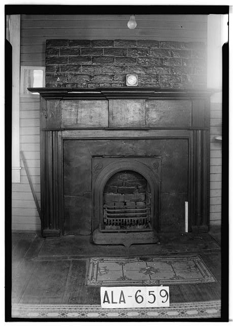 9.  Historic American Buildings Survey W. N. Manning, Photographer, March 15, 1935 MANTEL IN KITCHEN, N.W. - J. Bruce Airey House, 1202 West Tuskeena Street, Wetumpka, Elmore County, AL