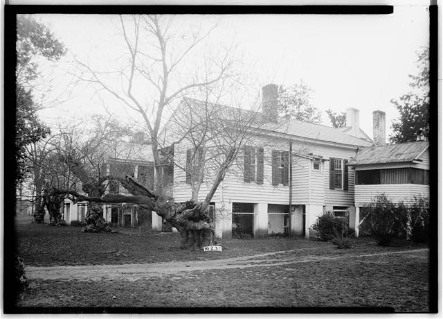20.  Historic American Buildings Survey W. N. Manning, Photographer, April 7, 1934. REAR VIEW - Governor Samuel Pickens House, State Route 14, Sawyerville, Hale County, AL