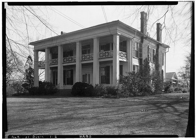 2.  Historic American Buildings Survey Alex Bush, Photographer, March 4, 1937 FRONT (NORTH) AND WEST ELEVATION - Arlington Place, 331 Cotton Avenue, Southwest, Birmingham, Jefferson County, AL