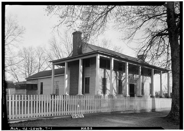 1.  Historic American Buildings Survey W. N. Manning, Photographer, Feb. 3, 1934. FRONT VIEW. - Howard House, State Highway 97 (County Road 29), Lowndesboro, Lowndes County, AL