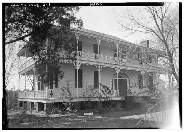 1.  Historic American Buildings Survey W. N. Manning, Photographer, Feb. 3, 1934. FRONT VIEW. - Francis Lewis House, State Highway 97 (County Road 29), Lowndesboro, Lowndes County, AL